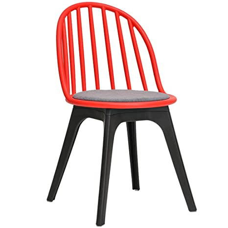 Butaca Nordic de madera maciza, silla de comedor simple ...