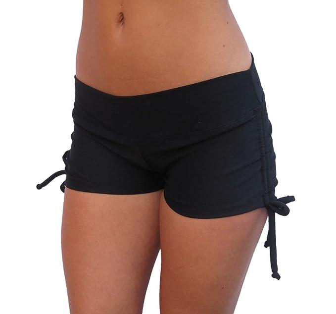 Amazon.com: Delicado Illusions - Pantalones cortos de licra ...