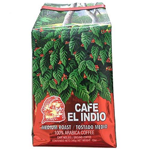Cafe El Indio - Gourmet - Medium Roast - 100% Arabica Coffee