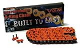 530 x 150 Links O-Ring Motorcycle Chain for Extended Swingarm - Orange