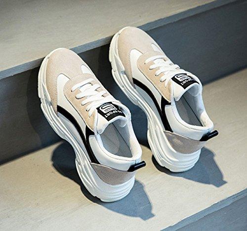 De Black Deportivos Zapatos Yrps Mujer silvestres Deportivos Zapatos Casuales wEqg6BRx