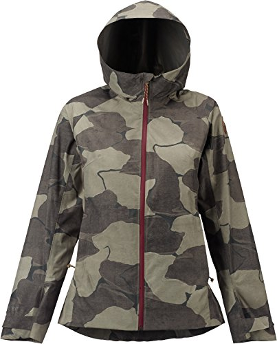 Fleece Burton Jacket Mens Lightweight (Burton Gore-Tex 2l Day-Light Jacket, Everglade Pond Camo, Medium)