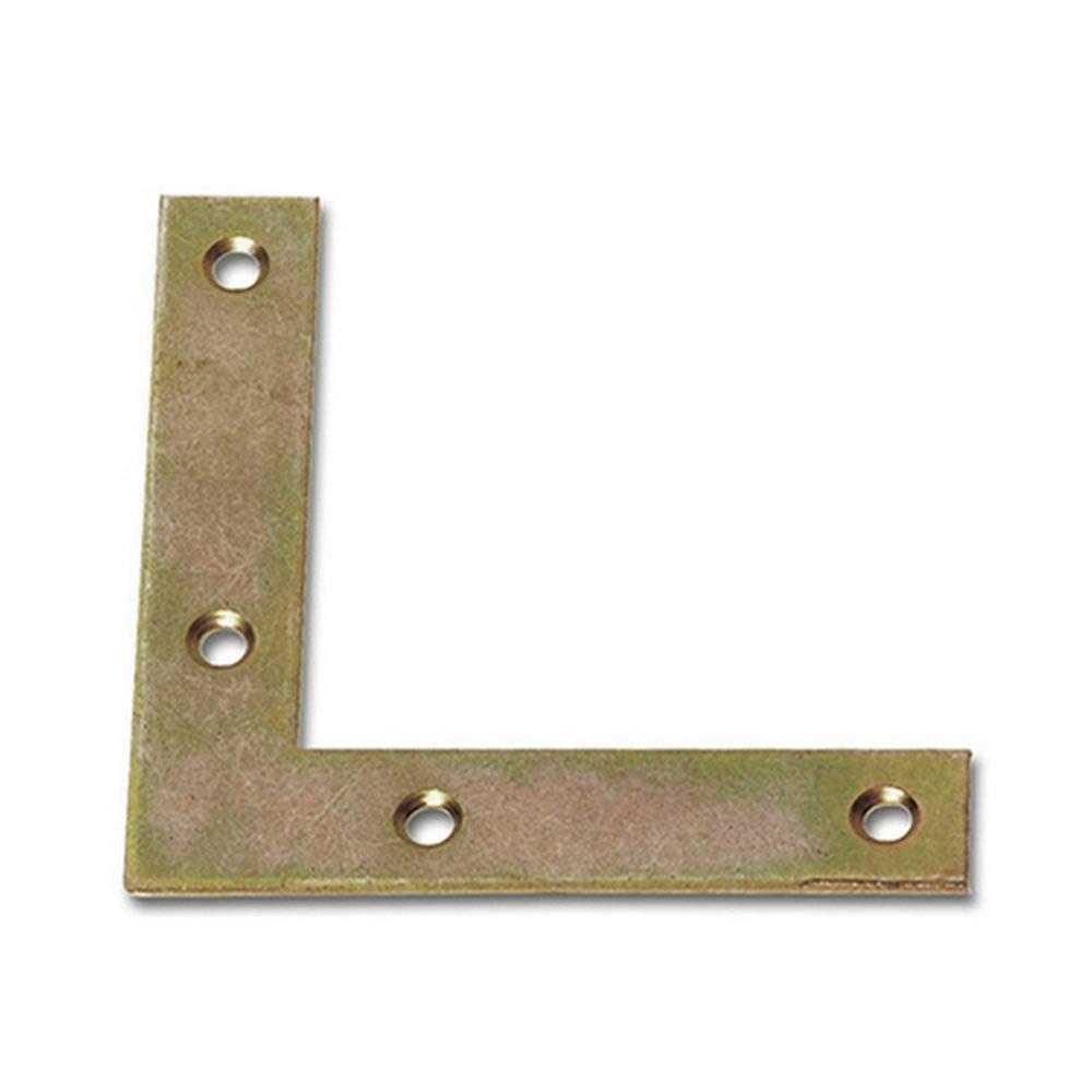 10X Eckwinkel 20x20x140x140x2mm Stahl verzinkt hohe Korrosionsbest/ändigkeit