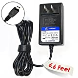 "T-Power (6.6 ft cable) 5v 3-Amp 3A High Power Quick Charger for HP Chromebook 11-1101 11-2010nr 11.6"" ,HP Pavilion x2 Detachable 10-k, 10-k010nr, 10-k020nr, 11-1101us, 11-f3x85ut, 11-1101 X2 F2j07aa#aba, G3"