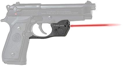 Amazon com : ArmaLaser TR20 Beretta 92 96 M9 92FS 96FS Red Laser