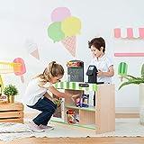 Teamson Kids - Cashier Austin Wooden Fresh Mart