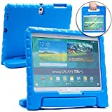 Samsung Galaxy Tab S 10.5 case for kids [SHOCK PROOF KIDS TAB 10.5 CASE] COOPER DYNAMO Kidproof Child Tab S 10.5 inch Cover for Boys, Toddlers | Kid Friendly Handle & Stand, Screen Protector (Blue)