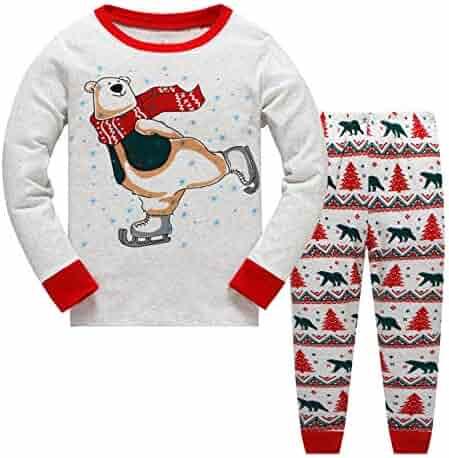 Garsumiss Girls Pajamas Toddler Girl Sleepwear Mermaid Pajamas Kids Clothes  Cotton PJS Sets a50b38297