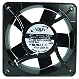 ADDA AK1861HB-AT AXIAL FAN, 180MM x 180MM x 65MM, 115VAC, 500MA