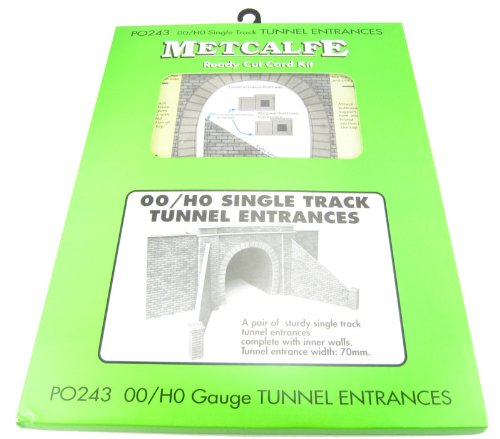 00 / HO Single Track Tunnel Entrances Metcalfe PO243