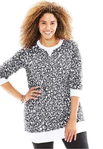 Knit Fleece Pullover - 9