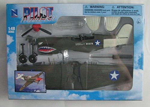 Price comparison product image Pilot Model Kit 1:48 Scale P-40 20215 F2