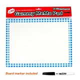 Dry Erase Board Refrigerator Whiteboard Wall Sticker Easy Removable Non Magnetic - Marker Board Sheets Easy Attached & Detached on Refrigerators Glass without Glue - For Office Restaurant Simple Memo