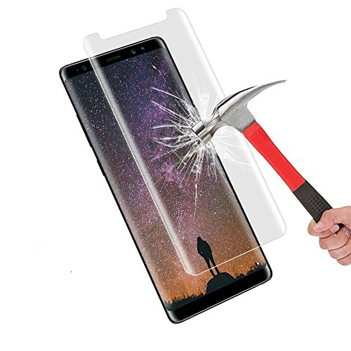 (Galaxy Note 9 Tempered Gorilla Cases Glass FITS with All Cases Note 9 Screen Protector Tempered Samsung Galaxy Note 9 Screen Protector (Clear) (Clear))