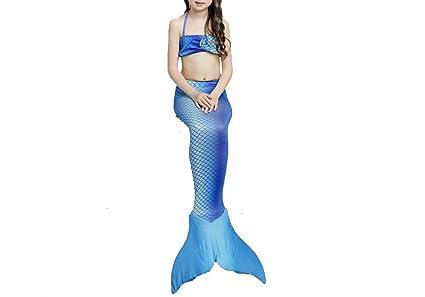 Costumi Da Bagno Per Bambini : Nuovo sirena pinne bikini costume da bagno con coda di sirena da