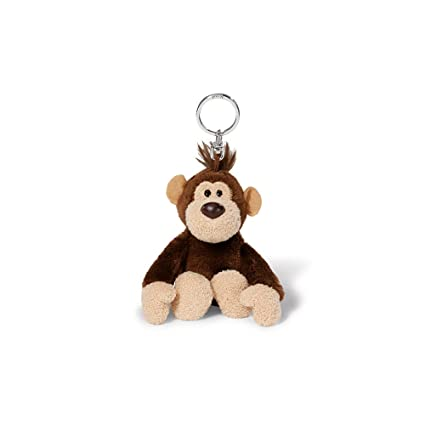 Amazon.com: NICI 40207 10 cm Wild Friends Monkey Nardu Key ...