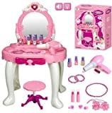 Great Gift ! Girls Dressing Table Mirror Play Set / Toys Play Game Toddler Boys Girls Unisex Cool Educational Shop Store Christmas XMAS Classic Popular Unique Preschool Discount Child Childrens Creat