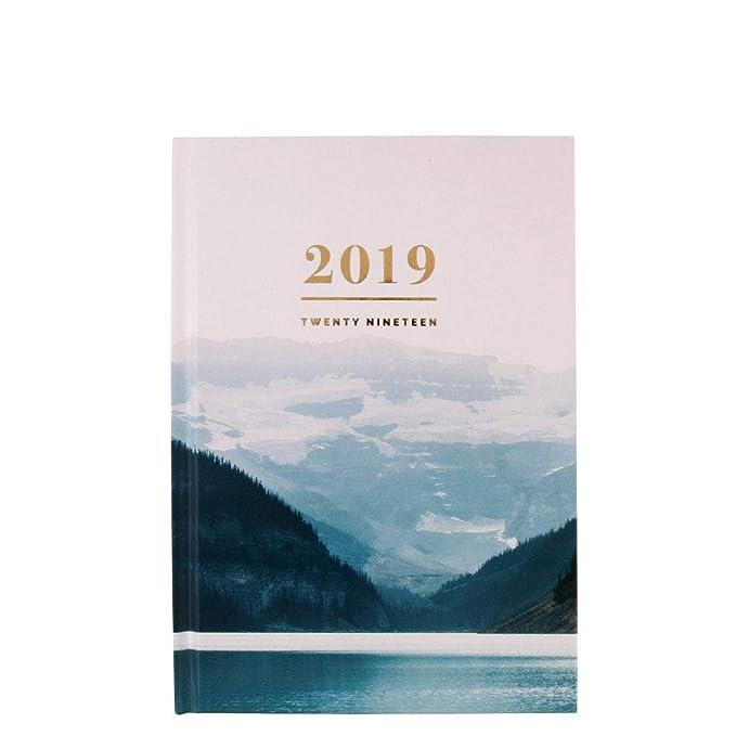 Agenda fotográfica A5 semana a página 2019: Amazon.es ...