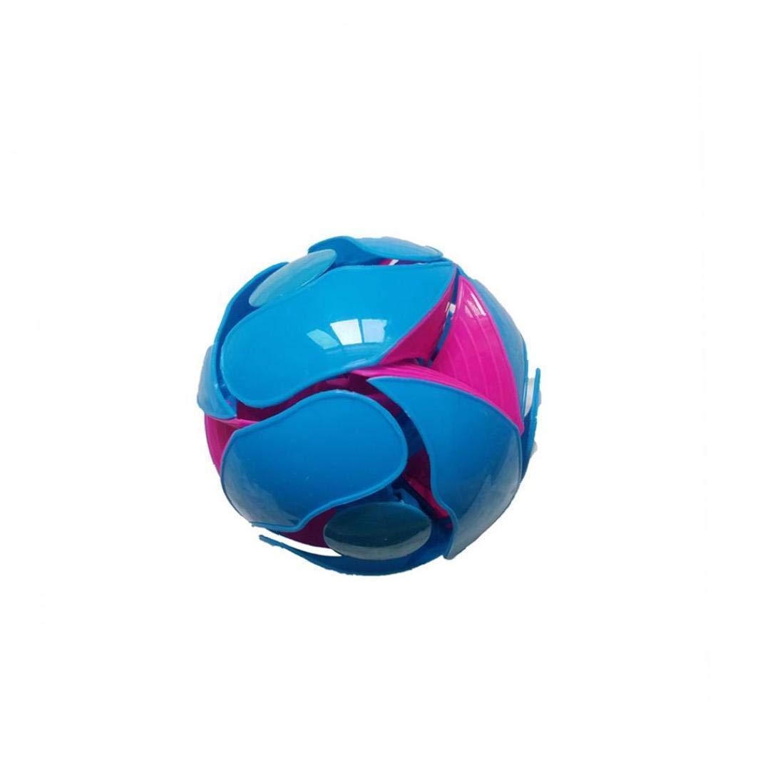 Interruptor de tono bola creativa cambiar de tono Bola que lanza con color voltear Acci/ón para Beb/és y Ni/ños color al azar