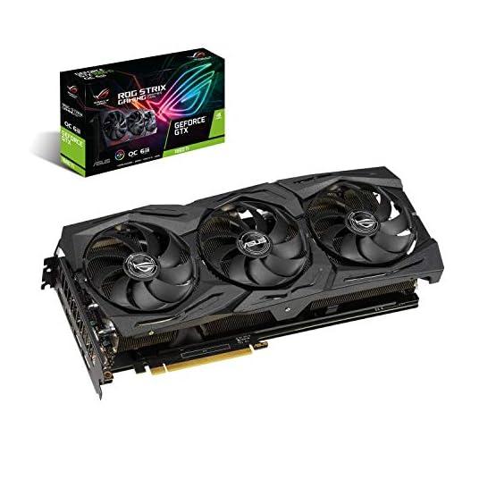ASUS ROG Strix GeForce GTX 1660 Ti 6GB Overclocked Edition VR Ready HDMI 2.0 DP 1.4 Auto-Extreme Graphics card (STRIX… 51K5ioMG8IL. SS555
