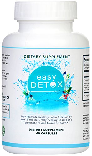 Body Detox Cleanse Pills With Acai Berry and Psyllium Husk For Women And Men. Supports Weight Loss. Natural and Organic. 100% Money Back Guarantee - Order Risk Free!