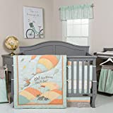 Trend-Lab-Dr-Seuss-Oh-The-Places-Youll-Go-Unisex-Crib-Bumpers-OrangeYellowGreen-and-White