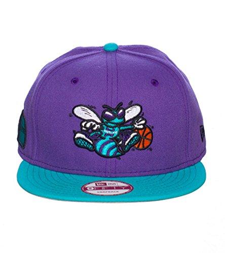 New Era Charlotte Hornets Nba Snapback Cap Purple 0