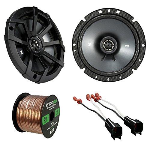 Car Speaker Set Combo of 2 x Kicker 40CS674 6.7