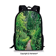 Kids Backpack Children Bookbag Preschool Kindergarten Elementary School Travel Bag Schoolbag for Girls Boys 1.This kid's backpack is a cute, fashion, durable, lightweight, comfortable and multi-functional back pack, made of polyester fabric w...