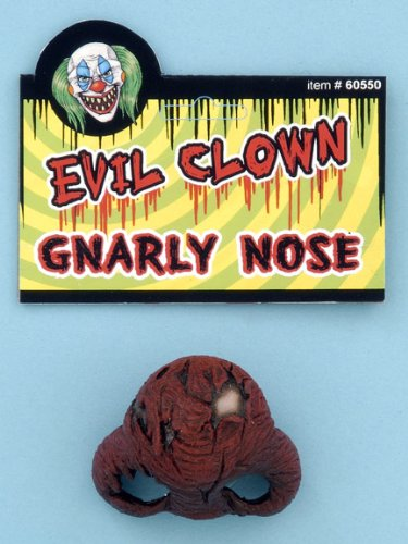 [Evil Clown Nose [Apparel]] (Bozo Clown Costumes)