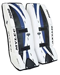 Mylec Ultra-lite 7000 Goal Pads (White, 32-inch )