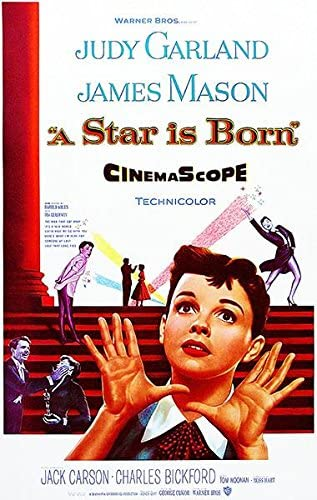 Amazon.com: A Star is Born - 1954 - Movie Poster: Posters & Prints