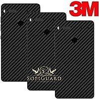 SopiGuard Essential Phone PH1 Carbon Fiber Rear Panel Precision Edge-to-Edge Coverage Easy-to-Apply Vinyl Skins (3 x 3M Carbon Black)
