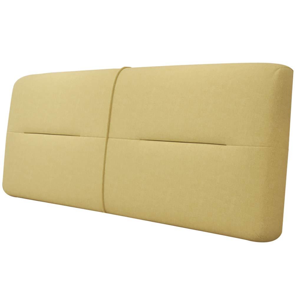 GUOWEI クッション 布張り 背もたれサポート ベッド用 ヘッドボードなし 5色 5サイズ 180x60x10cm 180x60x10cm C B07MVHJWCR