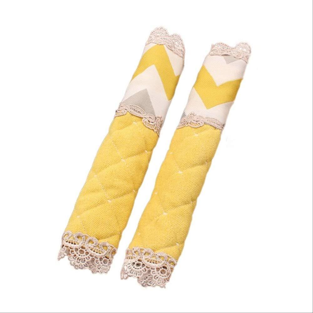 Funda de tela gruesa para manija de nevera para congelador de ...