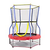 "Skywalker Trampolines 48"" Round Zoo Adventure Trampoline Mini Bouncer with Enclosure"