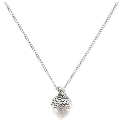 Antique silver oaktree acorn pendant necklace chain pynk amazon antique silver oaktree acorn pendant necklace chain mozeypictures Image collections