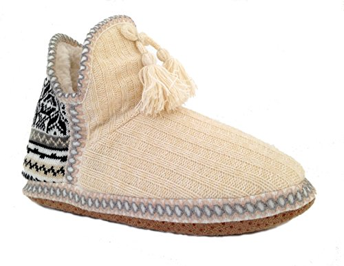 Sweater Isle Booties in Everything Love Knit Ivory Fair Women's Slipper Do qYTgAwY