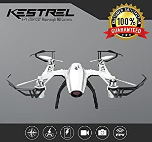 U28 Drone with Camera Live Video on 4 Inch LCD Handheld RC Screen for Beginners or Pros Altitude Hold Quadcopter by Force1