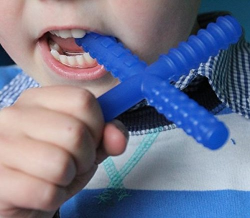 Sensory University CHEW STIXX Luxury Baby TEETHER Advanced Teething Technology Recommended by Speech Therapist Over A Million Sold!!