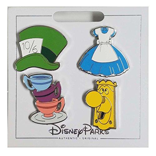 WDW Trading Pin - Alice in Wonderland Icons Set
