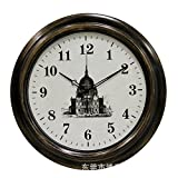 AYYA Creative wall clock 18-inch creative personality wall clock waterproof wall clock church