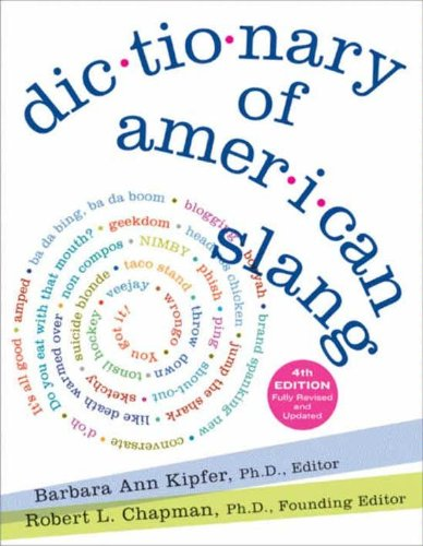 Dictionary of American Slang 4e cover