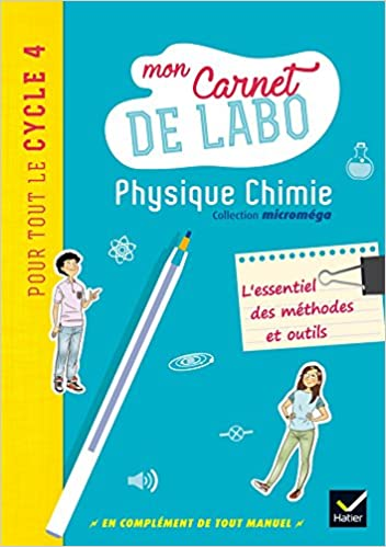 Amazon Fr Micromega Physique Chimie Cycle 4 Ed 2017