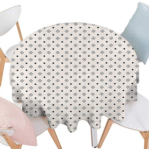 Cheery-Home Round Table Cloth Foot Table in Washable