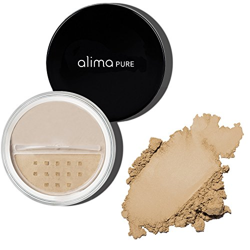 Alima Pure Satin Matte Foundation - Olive 3
