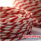 10 Metres of Red/White Craft - Bakers - Butchers - String - Twine by Henry Winning