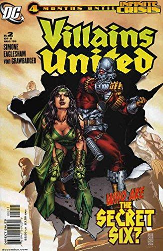 (Villains United #2 VF/NM ; DC comic book)