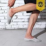 No Show Socks Mens 7 Pairs Cotton Thin Non Slip Low