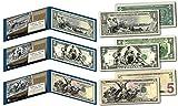 1890's EDUCATIONAL SERIES Neoclassical NEW Legal Tender Bills $1-$2-$5 *Set of 3